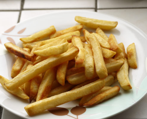 french fries, one of the many foods to avoid, Dr. Rodger Murphree