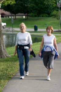 walking, greatly reduces stress