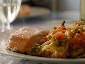salmon, good for endometriosis
