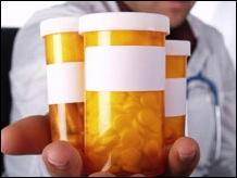 doc hlding pill bottles