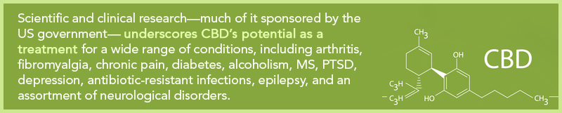 CBD's Potential as a Treatment for Wide Range of Conditions: Arthritis, Fibromyalgia, Chronic Pain, Diabetes, and More